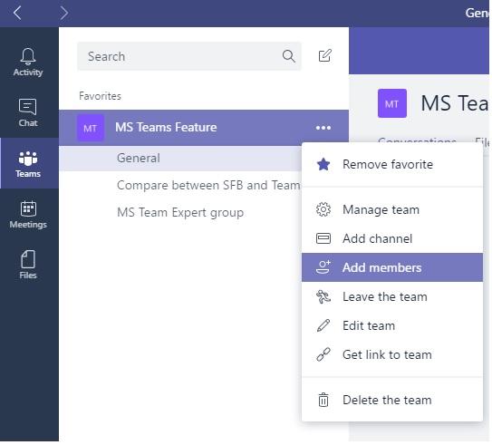 microsoft teams admin center delete team